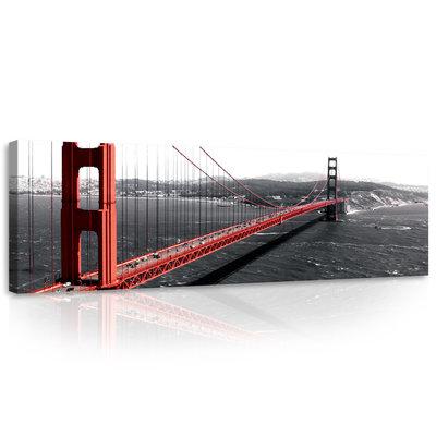 Golden Gate  Canvas Schilderij PP10085O3