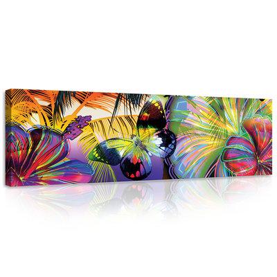 Butterfly Canvas Schilderij PP20386O3