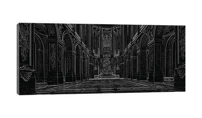 Great Hall Ballroom in Versaille Canvas Schilderij PP10689O3