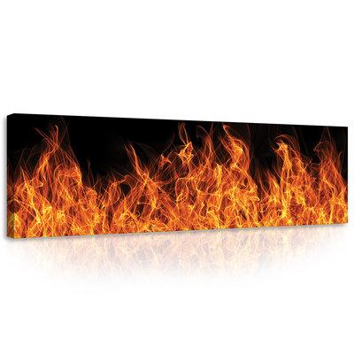 Fire Stripe Canvas Schilderij PP10442O3