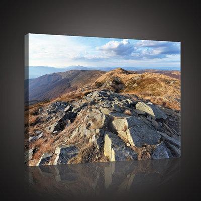Bieszczady Mountains Canvas Schilderij PP10510O4