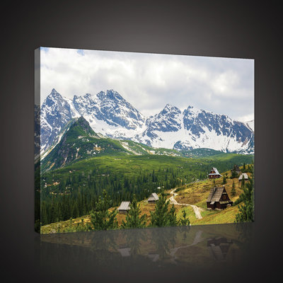 Picturesque Tatra Mountains  Canvas Schilderij PP10507O4