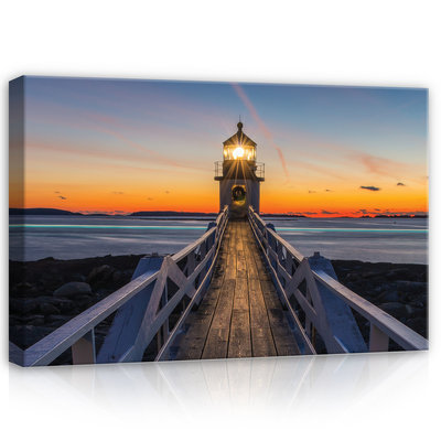 Lighthouse Canvas Schilderij PP12023O4