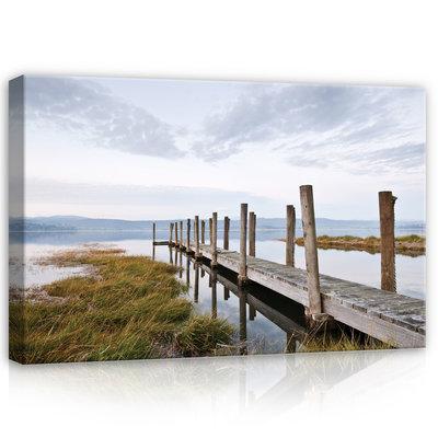 Lake Canvas Schilderij PP12013O4
