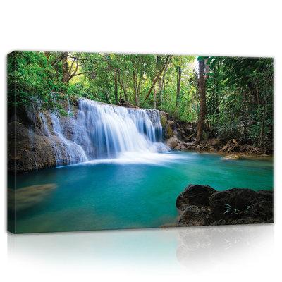 Waterfall Canvas Schilderij PP11893O4
