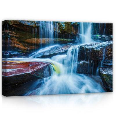 Waterfall Canvas Schilderij PP12631O4