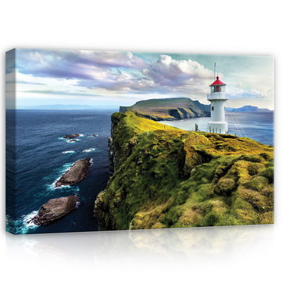 Lighthouse Canvas Schilderij PP12282O4