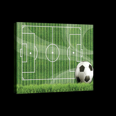 Football Pitch Canvas Schilderij PP2274O4