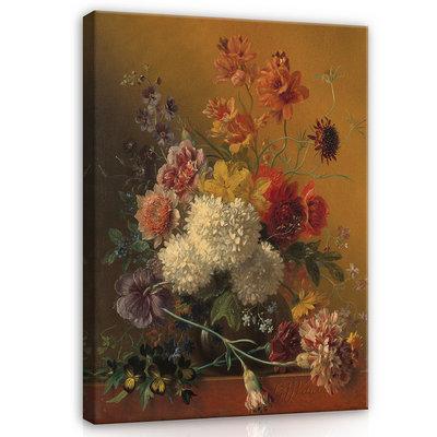 Rijksmuseum Canvas Stilleven met bloemen Georgius Jacobus Johannes van Os RMC11