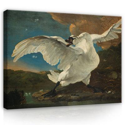 Rijksmuseum Canvas De Bedreigde Zwaan Jan Asselijn RMC13