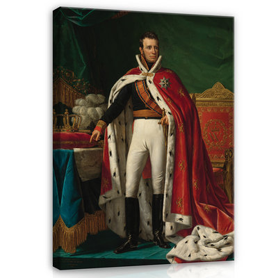 Rijksmuseum Canvas Willem I Koning der Nederlanden RMC21
