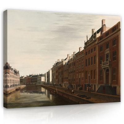 Rijksmuseum Canvas De Gouden Bocht Herengracht Amsterdam RMC25