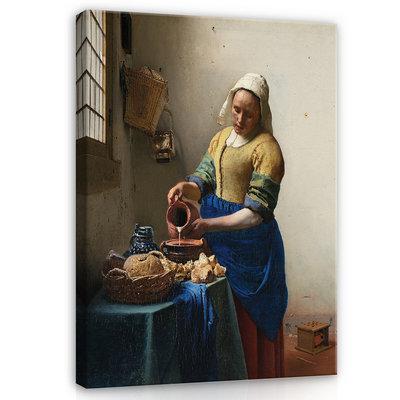 Rijksmuseum Canvas Het Melkmeisje Johannes Vermeer RMC39