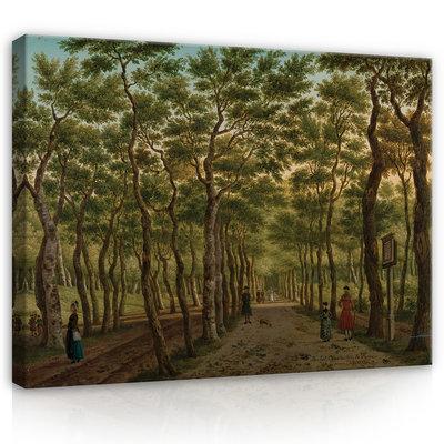 Rijksmuseum Canvas Het Herepad in het Haagse Bos RMC44