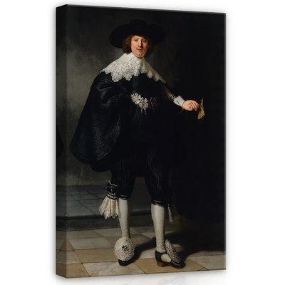 Rijksmuseum Canvas Portret Marten Soolmans RMC46