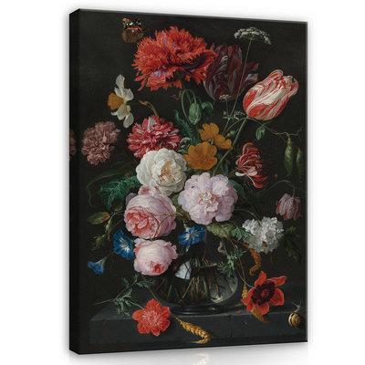 Rijksmuseum Canvas Stilleven met bloemen Jan Davidsz De Heem RMC5