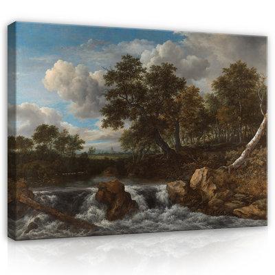 Rijksmuseum Canvas Landschap met waterval RMC51