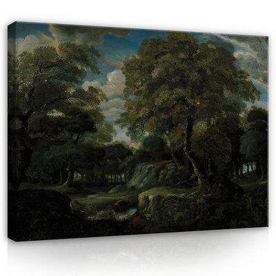 Rijksmuseum Canvas Bosgezicht Jan van der Heyden RMC54