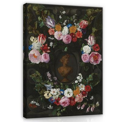 Rijksmuseum Canvas Festoen van Bloemen Jan Philip van Thielen RMC6