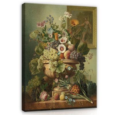 Rijksmuseum Canvas Stilleven met bloemen Eelke Jelles Eelkema RMC7