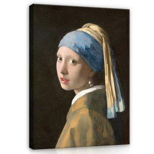 Johannes Vermeer, Meisje met de parel 1665 MHC1