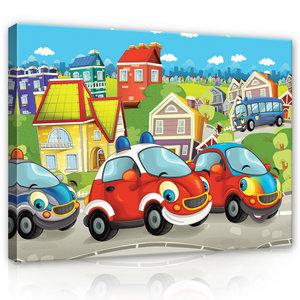 Cars Canvas Schilderij PP12536O1