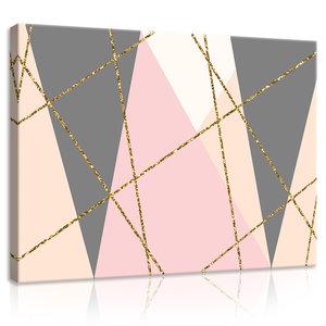 Triangles Canvas Schilderij PP10753O1