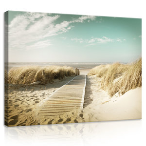 Beach Canvas Schilderij PP11593O1