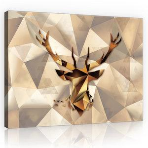 Deer Canvas Schilderij PP11403O1