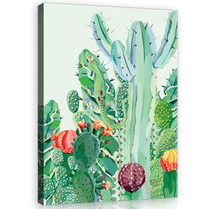 Cactus Canvas Schilderij PP11140O1