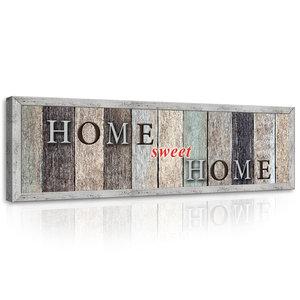 Motto - Home Sweet Home Canvas Schilderij PP10015O3