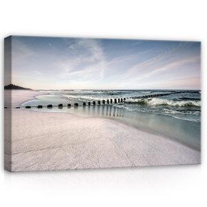 Beach Canvas Schilderij PP12284O4