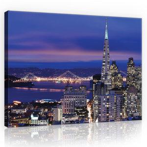 San Francisco Canvas Schilderij PP11576O4