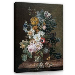 Rijksmuseum Canvas Stilleven met bloemen Eelke Jelles Eelkema RMC10