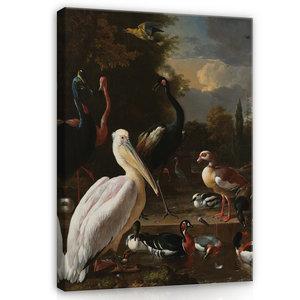 Rijksmuseum Canvas Het Drijvend Veertje Melchior D'Hondecoeter RMC14