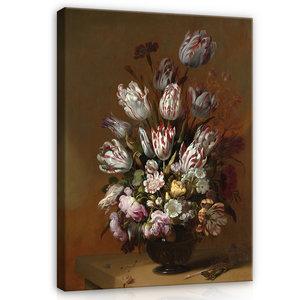 Rijksmuseum Canvas Stilleven met bloemen Hans Bollongier RMC2