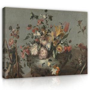 Rijksmuseum Canvas Bloemen Anoniem 1700 - 1799 RMC34