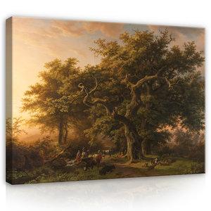 Rijksmuseum Canvas Bosgezicht Barend Cornelis Koekkoek RMC38