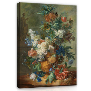 Rijksmuseum Canvas Stilleven met bloemen Jan van Huysum RMC4