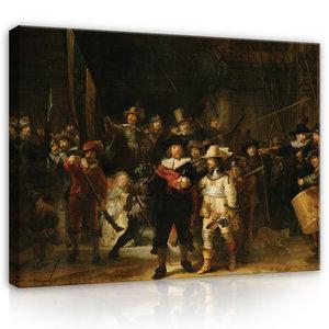 Rijksmuseum Canvas De Nachtwacht Rembrandt van Rijn RMC45