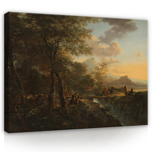 Rijksmuseum Canvas Italiaans Landschap Jan Both RMC47