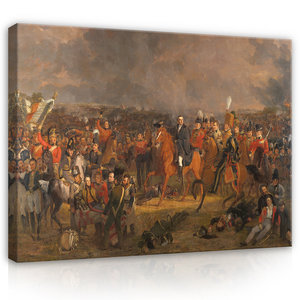 Rijksmuseum Canvas De Slag bij Waterloo Jan Willem Pieneman RMC64