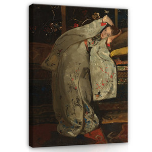 Rijksmuseum Canvas Meisje in de witte kimono 1894 RMC66