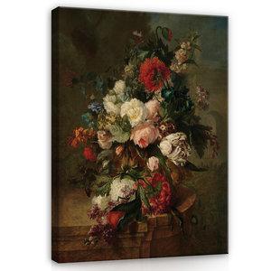 Rijksmuseum Canvas Stilleven met bloemen Harmanus Uppink RMC8